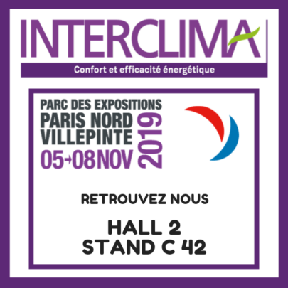 France Air Interclima 2019 :Hall 2 stand C42